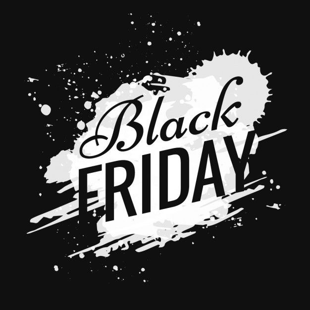 BLACK FRIDAY 24 November 2017